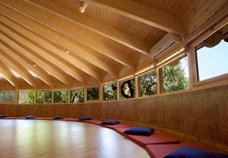 Retiro yoga de otoño