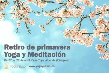 Retiro de Yoga y Meditación en primavera