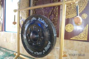 Meditación con gong Madrid