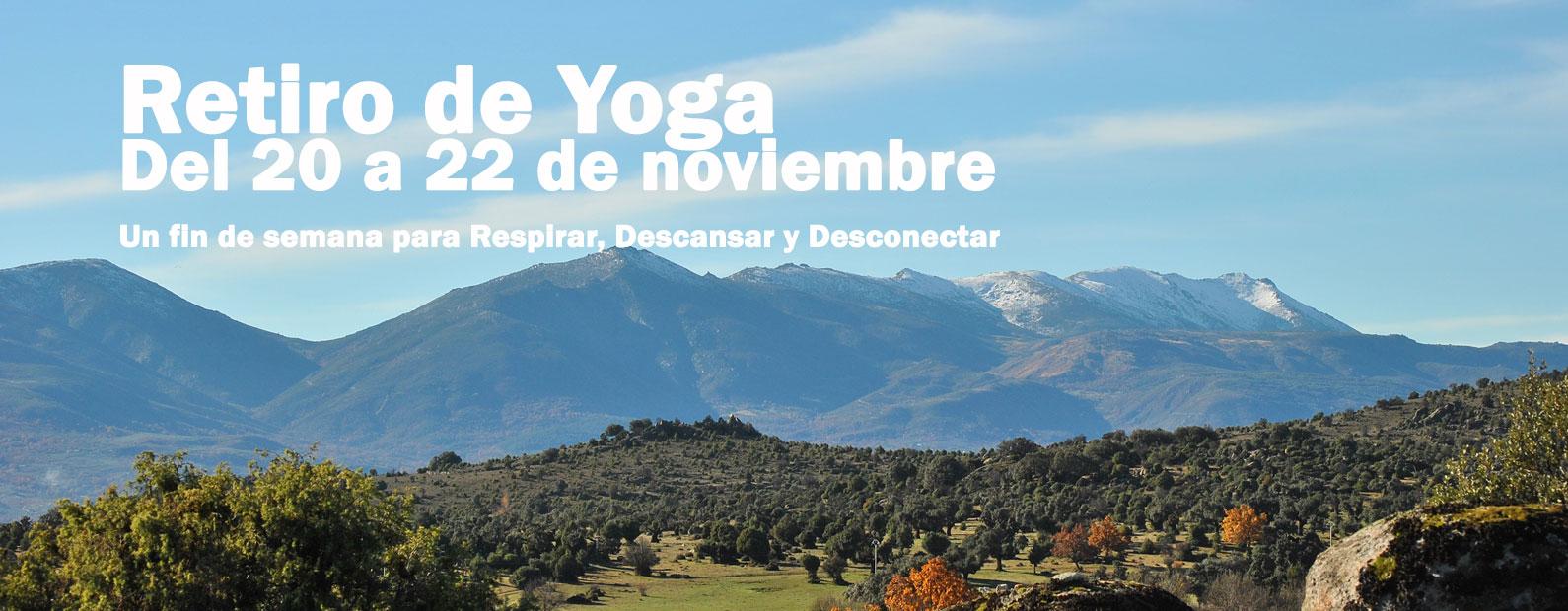 retiro yoga noviembre 2020