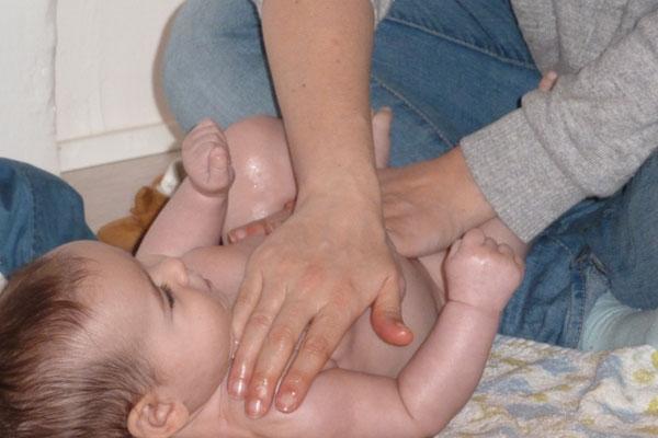 Masaje infantil Granada
